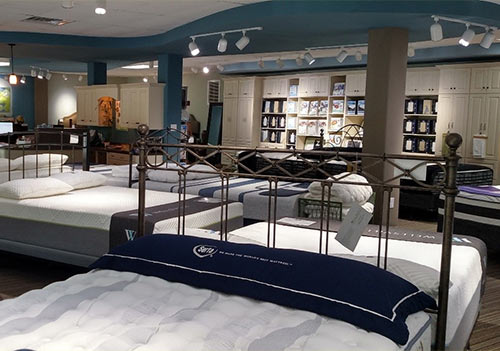 The Sleep Shop Showroom in Hudson, NC
