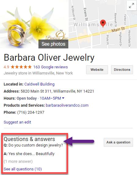 google qa 1