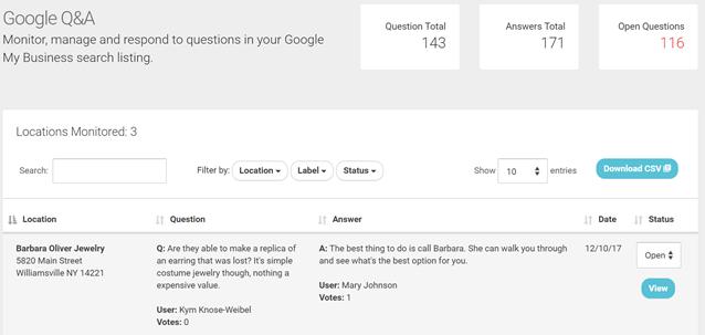 google qa 2