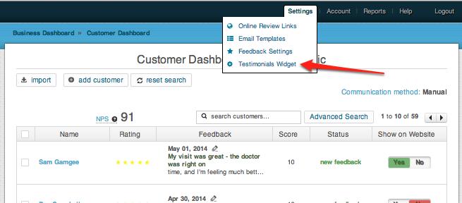 including feedback form on website 3