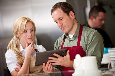 Customer Reviews via tablet using Kiosk mode
