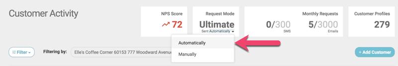 set daily limit sent automatically