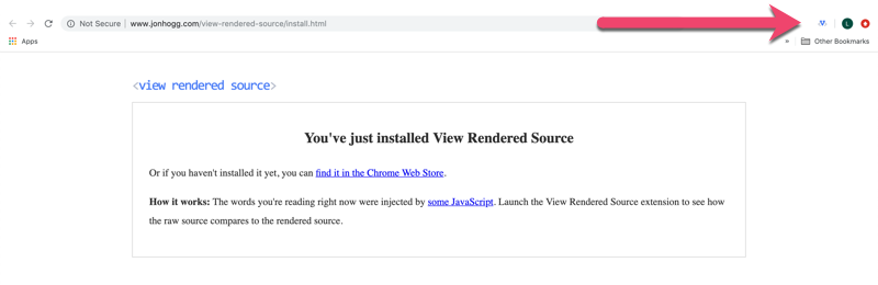 view rendered source launch icon