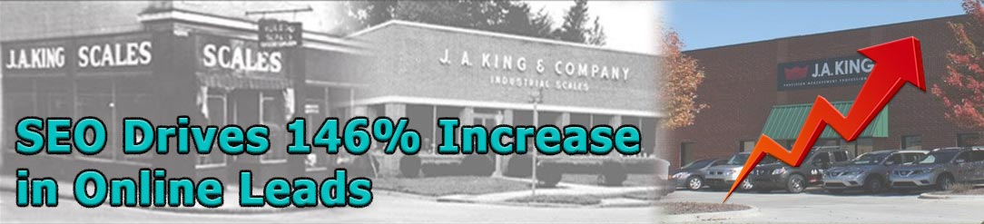 J.A. King Case Study Increased Leads