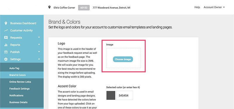 add logo in brand colors 1
