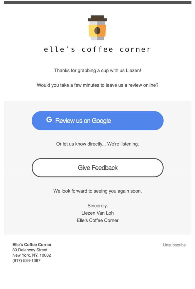 email request direct mode