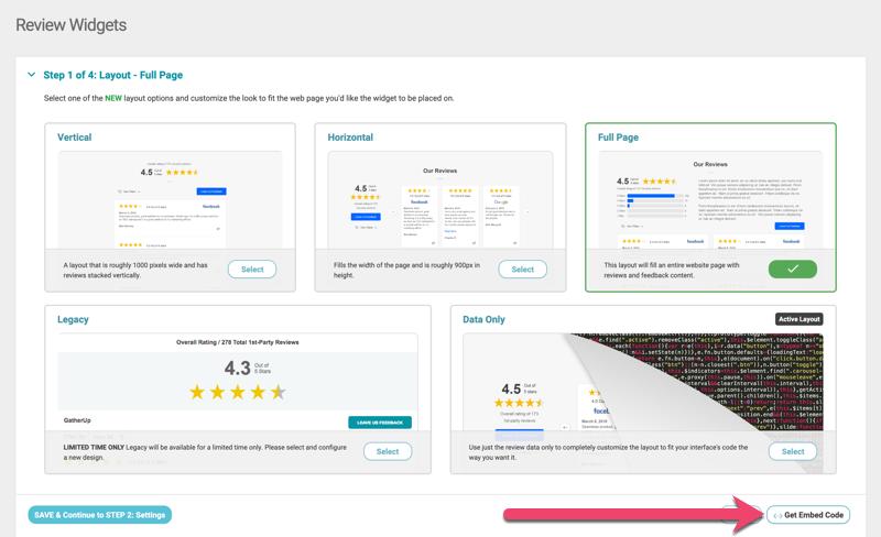 get embed code review widget 1