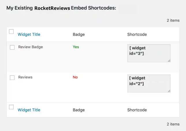 shortcode review badge wordpress