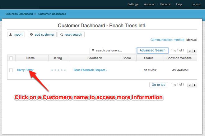 updating customer information 2