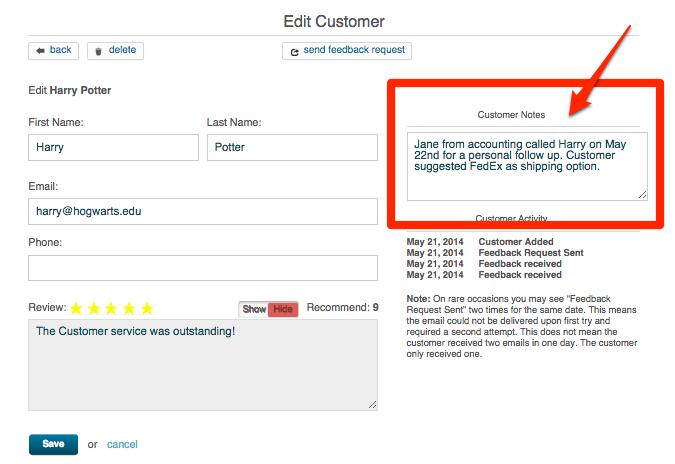 updating customer information 3