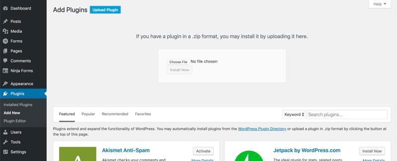 wp add review widget upload plugin