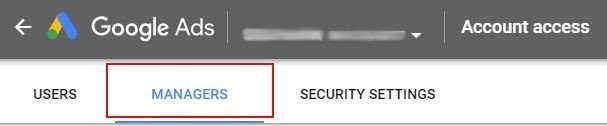 Account Access Blur