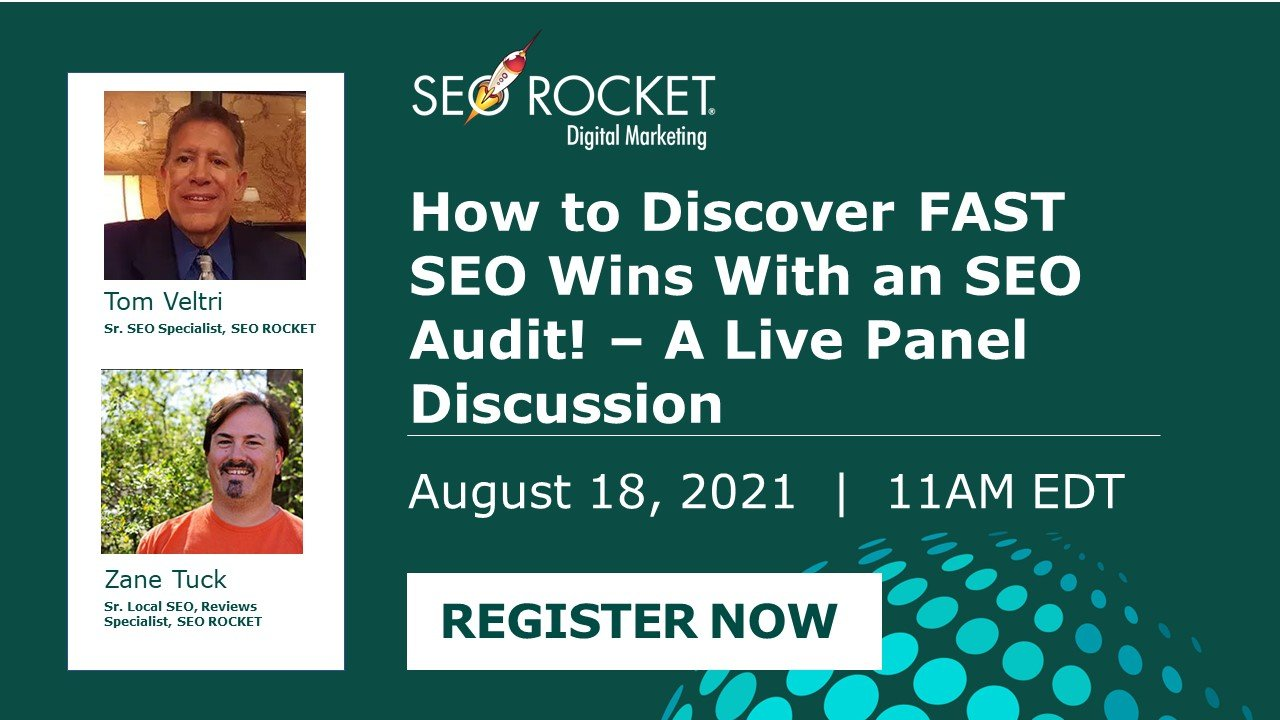 How to Discover FAST SEO Wins Webinar Link
