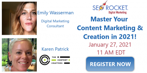 Master Your Content Marketing & Creation in 2021 Webinar